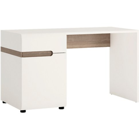 Jonas & James Leece Desk/Dressing Table - White With...
