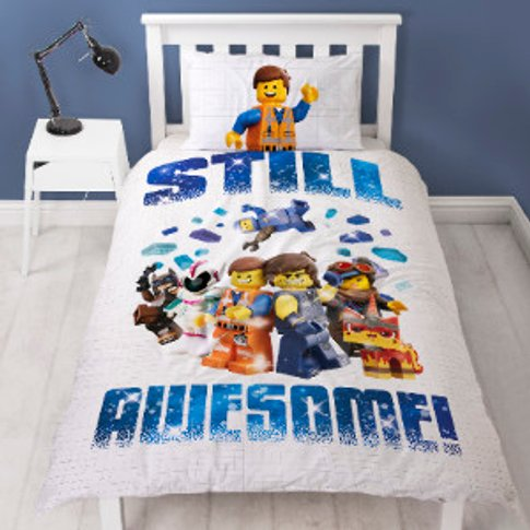 Lego Movie 2 Awesome Duvet Cover And Pillowcase Set