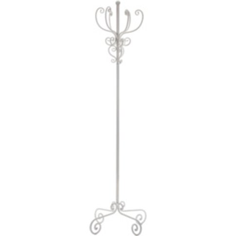 Vintage Coat Stand - White