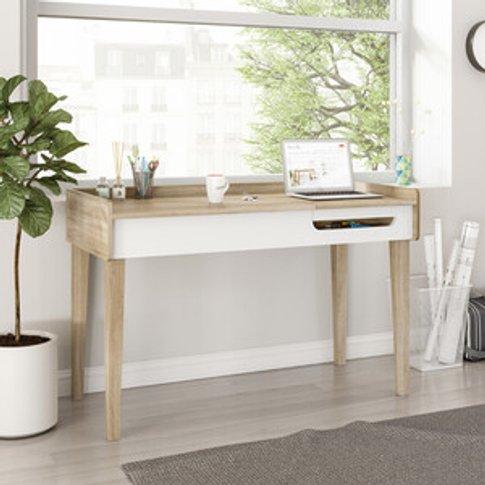 Giru Desk - Sonoma Oak