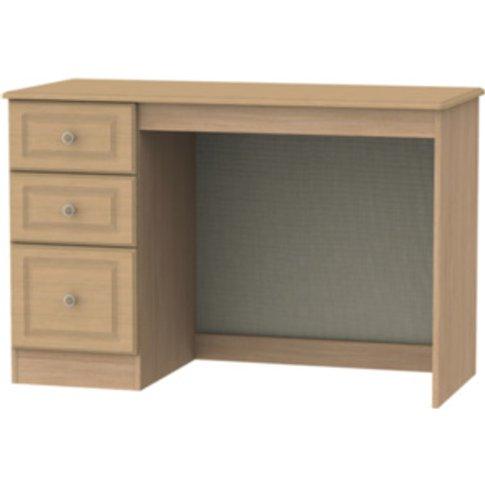 Pembury Three Drawer Desk - Oak