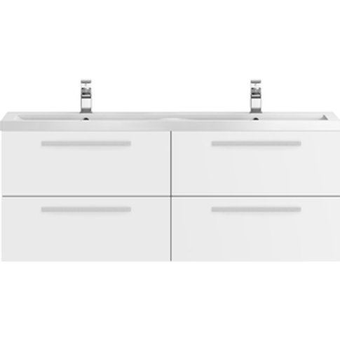 Jonas & James Shape Double Cabinet And Basin - Gloss...