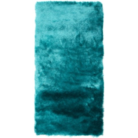 Plush Heavy Weight Rug - Teal / 170cm