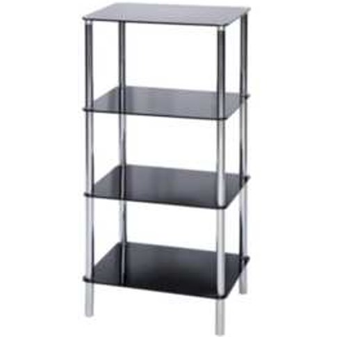 Sierra Four Tier Square Shelving Unit