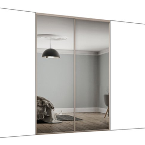 Spacepro Frame Mirror 610mm Classic Sliding Door Kit...