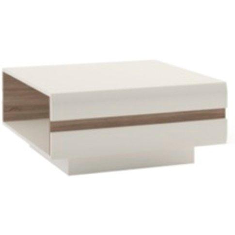 Lecce Coffee Table  - White / 75cm