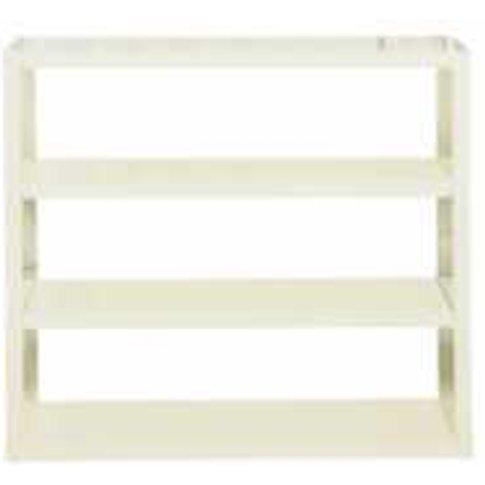 Puro High Gloss Bookcase - Cream