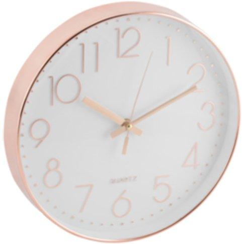 Copper Wall Clock - 30.5cm