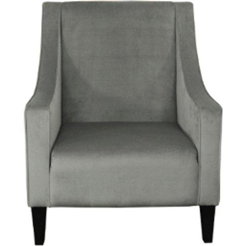 Brigette Accent Chair - Steel
