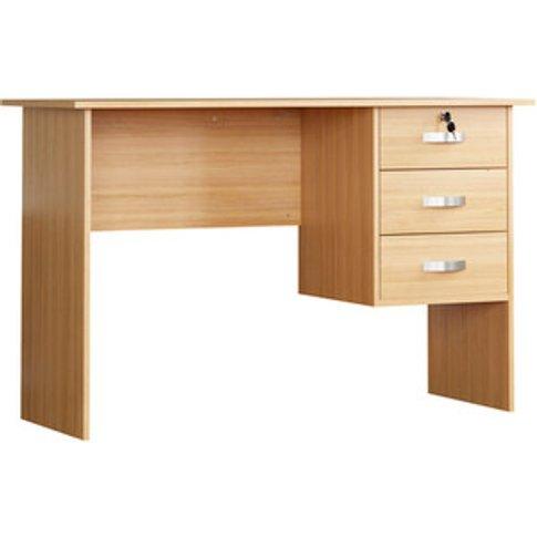 Charles Computer Desk - Pine
