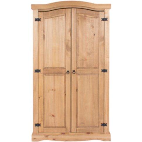 Corona Two Door Wardrobe - Pine