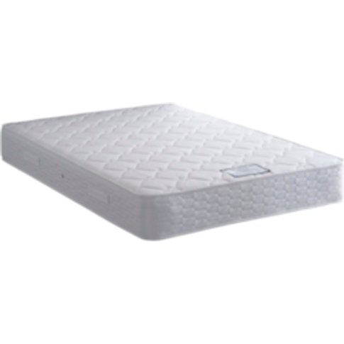 Malmo Medium Cooling Mattress - White / King