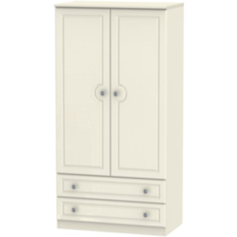 Pembury Drawer Wardrobe - Cream