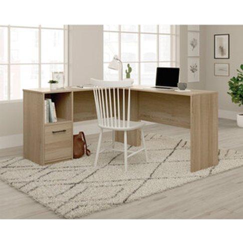 Office Essentials L-Shaped Desk