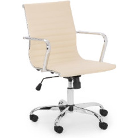 Gio Office Chair - Ivory