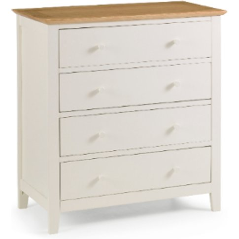 Salerno Two Tone Four Drawer Chest
