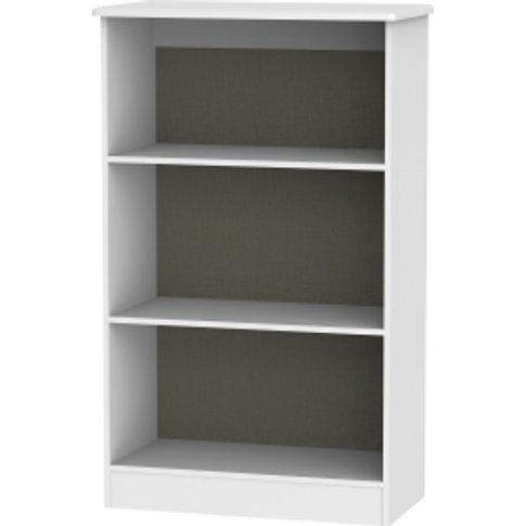 Kensington Kashmir Bookcase - White