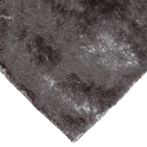 Satin Rug - Charcoal