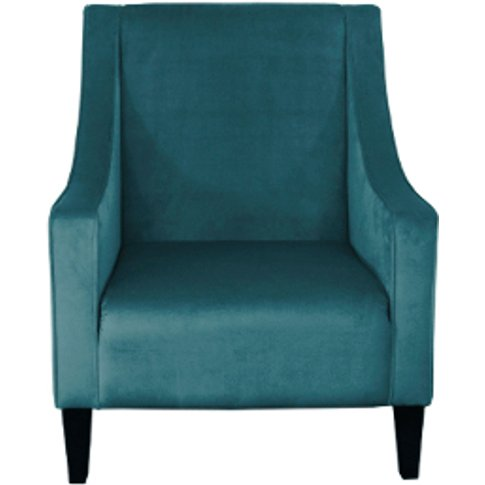 Brigette Accent Chair - Teal