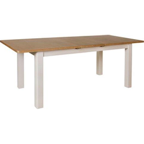 Cambridge 1.6 M Extending Dining Table - Dove Grey