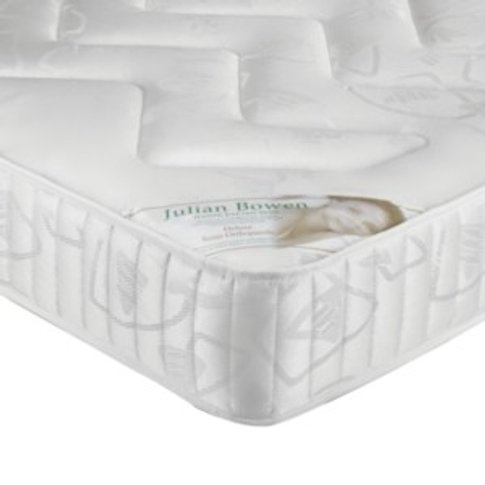 Deluxe Semi-Orthopaedic Mattress - White / Kingsize