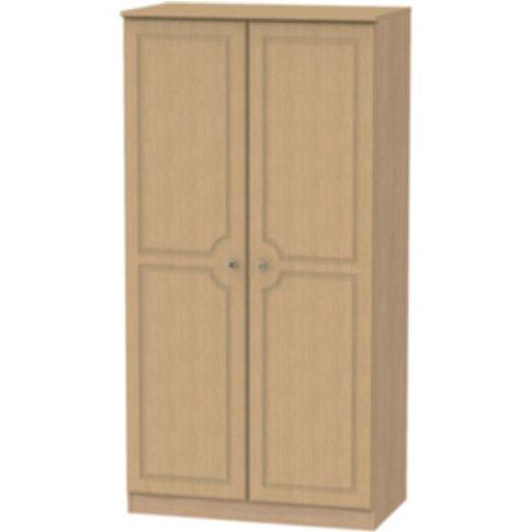 Pembury Large Double Door Wardrobe - Oak