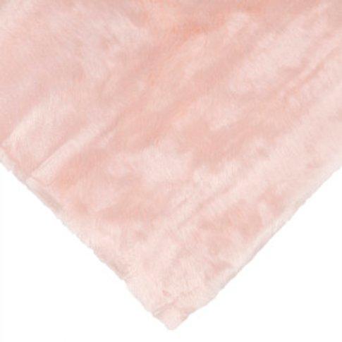 Sheep Faux Fur Pink Rug 80cm X 150cm