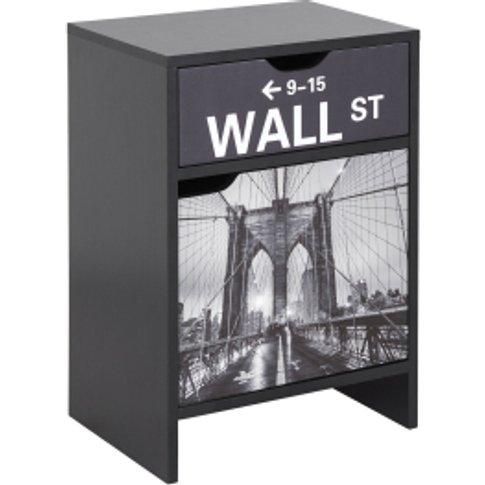 Broadway Side Table - Black