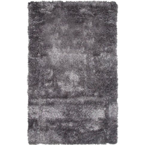 Shaggy Rug - Grey / 150cm