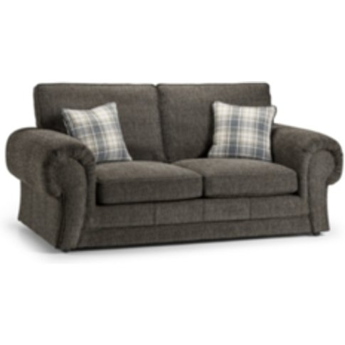 Wilcot Check Two Seater Sofa - Grey Check