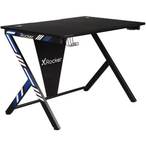 X-Rocker Ocelot Gaming Desk - Blue