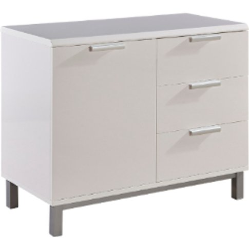 Remi Small Sideboard Cabinet - White