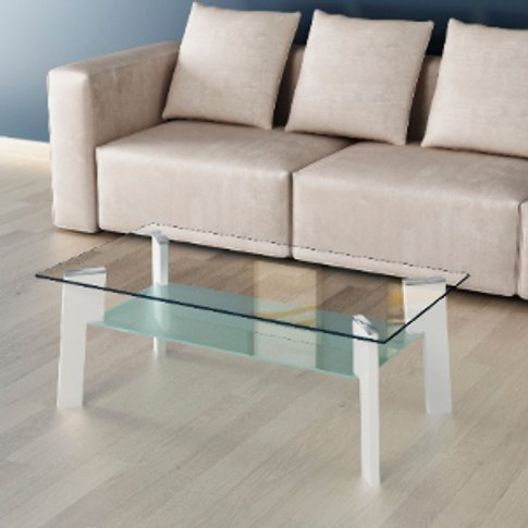 Memphis Sonoma Coffee Table - Memphis White Gloss
