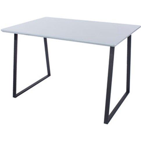 Aspen Rectangular 120cm Dining Table  With Metal Leg...