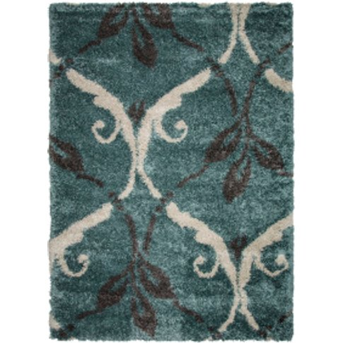 Royal Duke Blue Rug - Blue