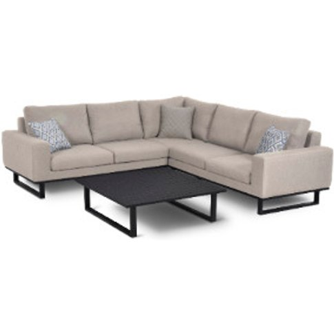 Maze Ethos Outdoor Corner Sofa Set - Taupe