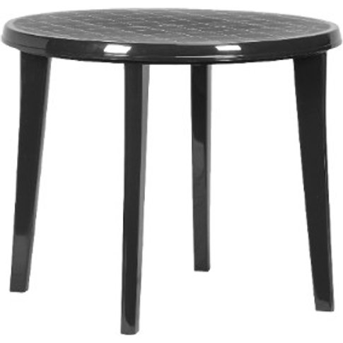 Lisa Garden Table - Graphite