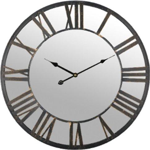 Mirror Iron Wall Clock - Iron