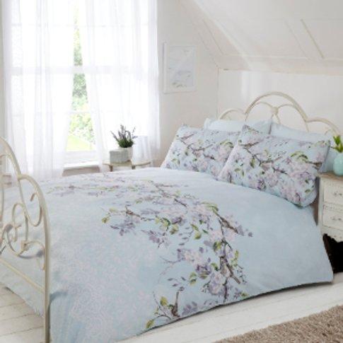 Eloise Floral Duvet Cover And Pillowcase Set - Duck ...