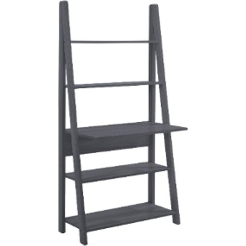 Tiva Ladder Desk - Charcoal