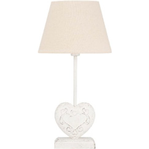 Vintage Heart Table Lamp