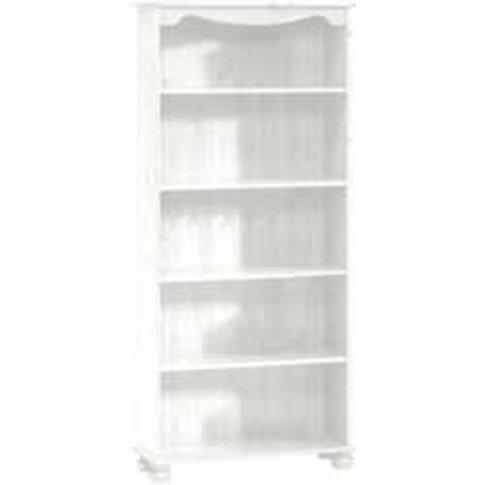 Steens Pine Bookcase - White