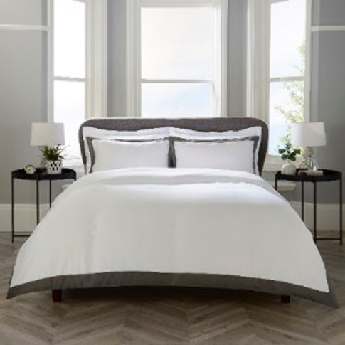 Cambridge Tailored Edge Duvet Cover and Pillowcase S...