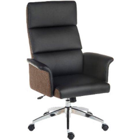 Elegance High Back Office Chair - Black