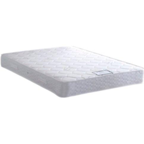 Palma Soft Thermal Cool Mattress - White / Double