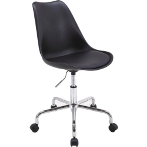 Galaxy Swivel Office Chair - Black