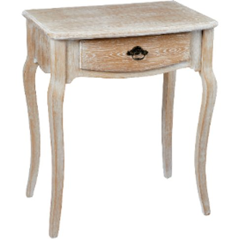 Provence One Drawer Side Table