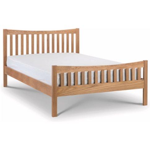 Bergamo Bed Frame - Natural Oak / Double