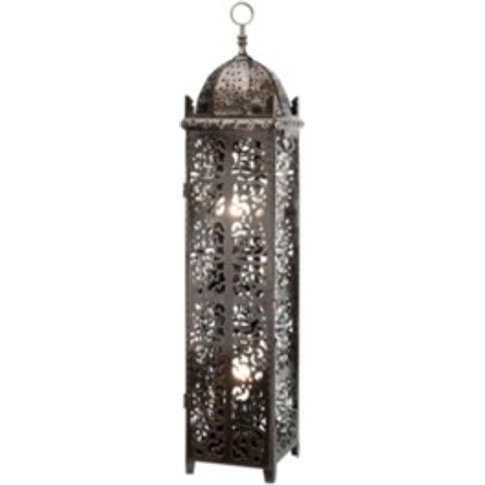 Antique Moroccan Floor Lamp - Bronze