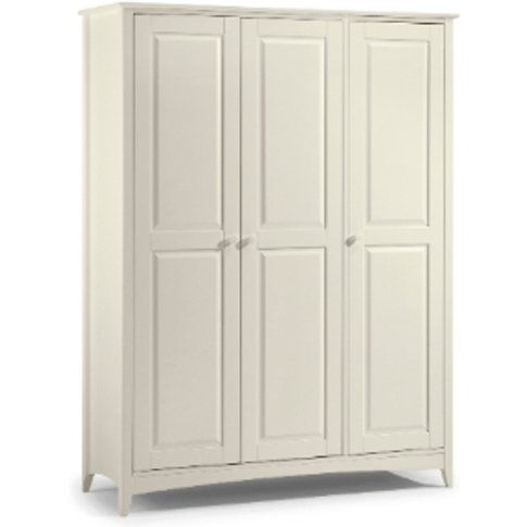 Cameo Three Door Wardrobe - White